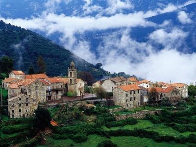 France-Village in Alta Roca Region Corsica