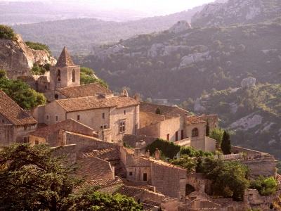 France-Village of Les Baux