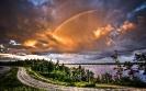 High double rainbow