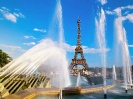 France-Eiffel Tower and Fountain Paris