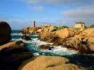 France-Ploumanach Rocks and Lighthouse Bretagne